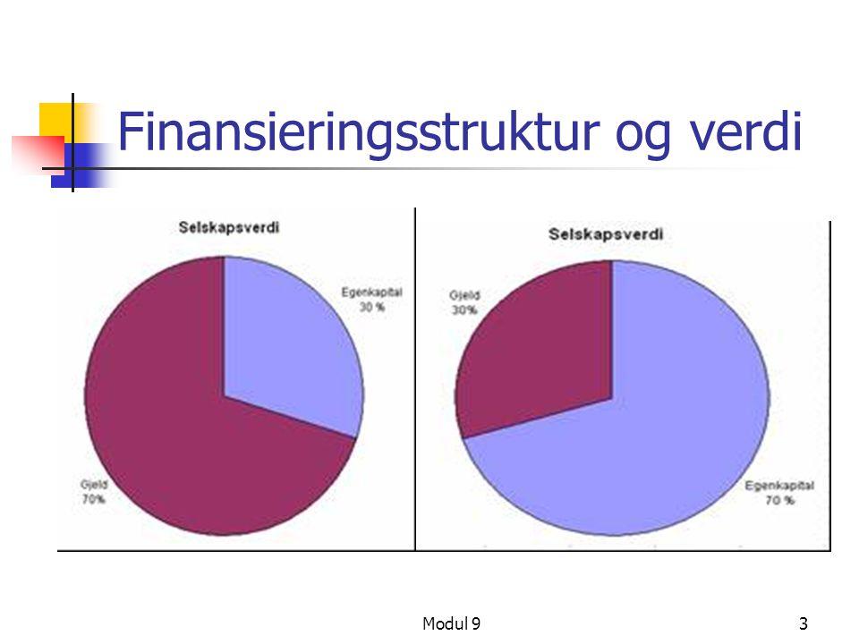 Modul 93 Finansieringsstruktur og verdi