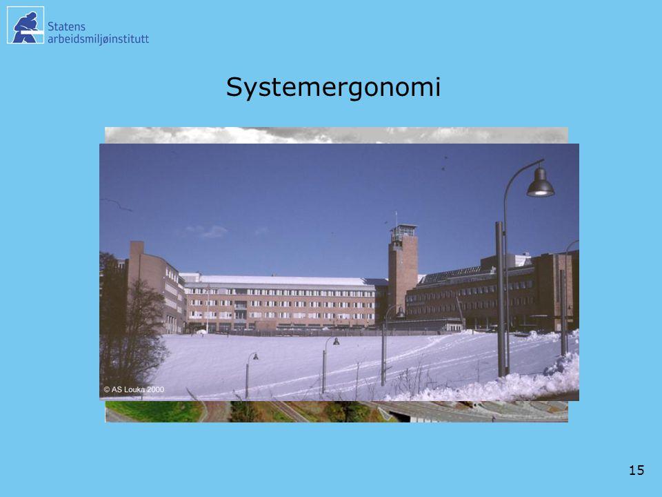 15 Systemergonomi