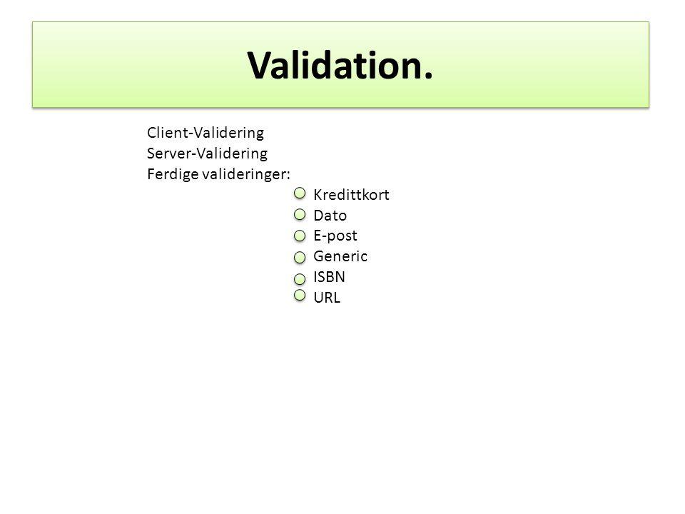 Dialog Manager.Kan kombineres med vanlig JSF navigering.