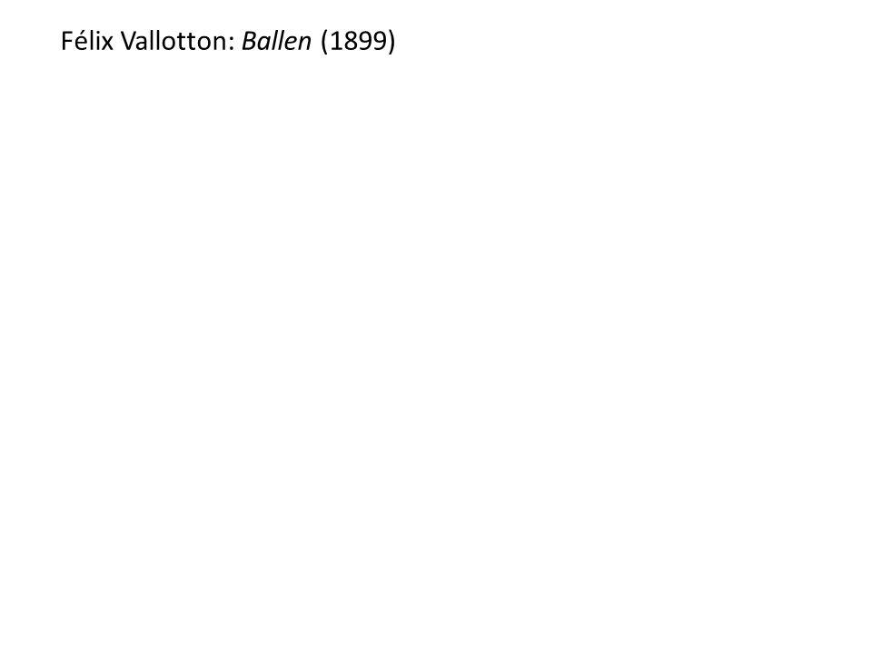 Félix Vallotton: Ballen (1899)