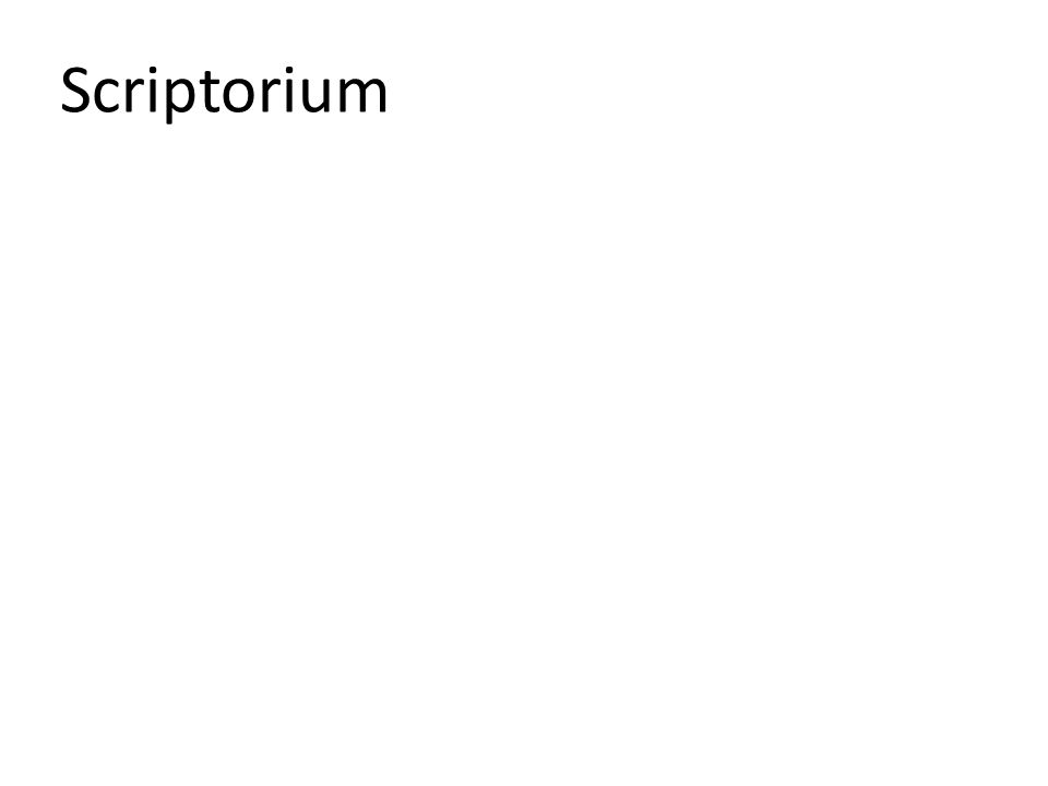 Scriptorium