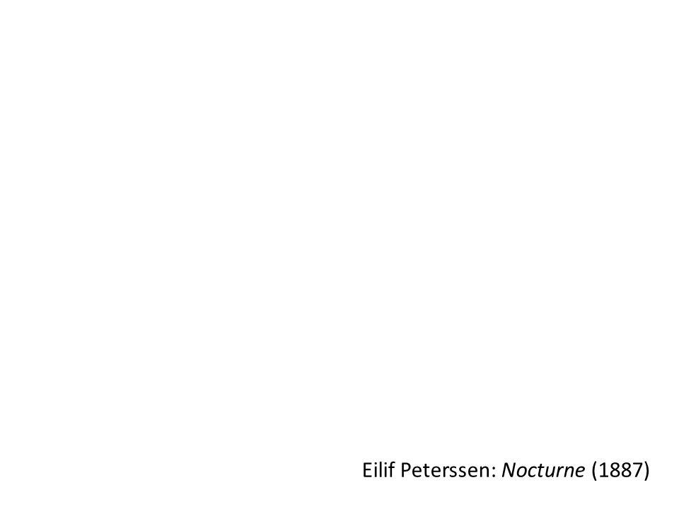Eilif Peterssen: Nocturne (1887)