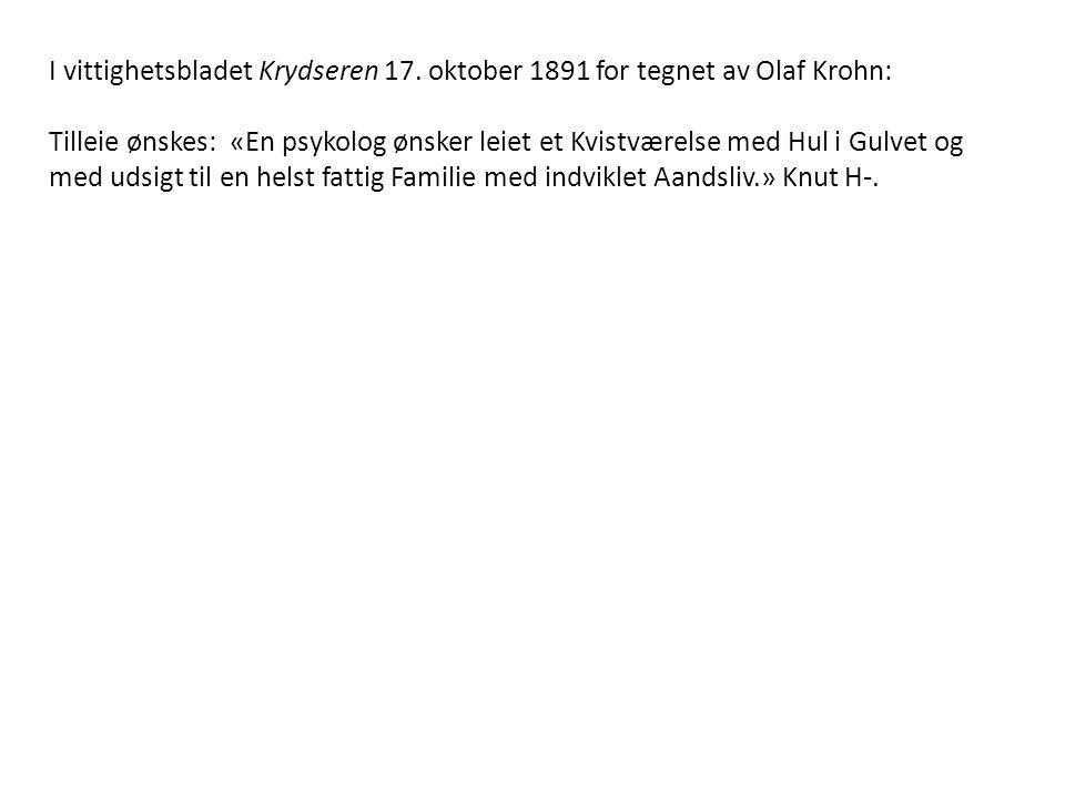 I vittighetsbladet Krydseren 17.