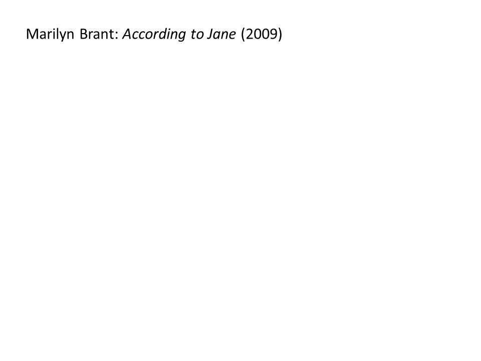 Marilyn Brant: According to Jane (2009)