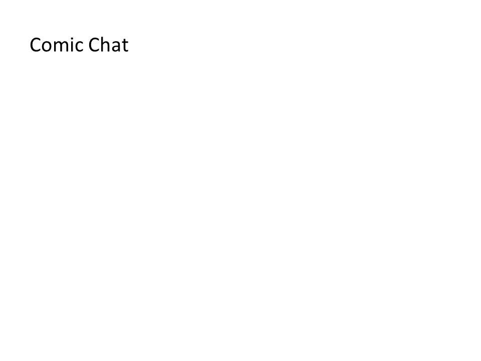Comic Chat