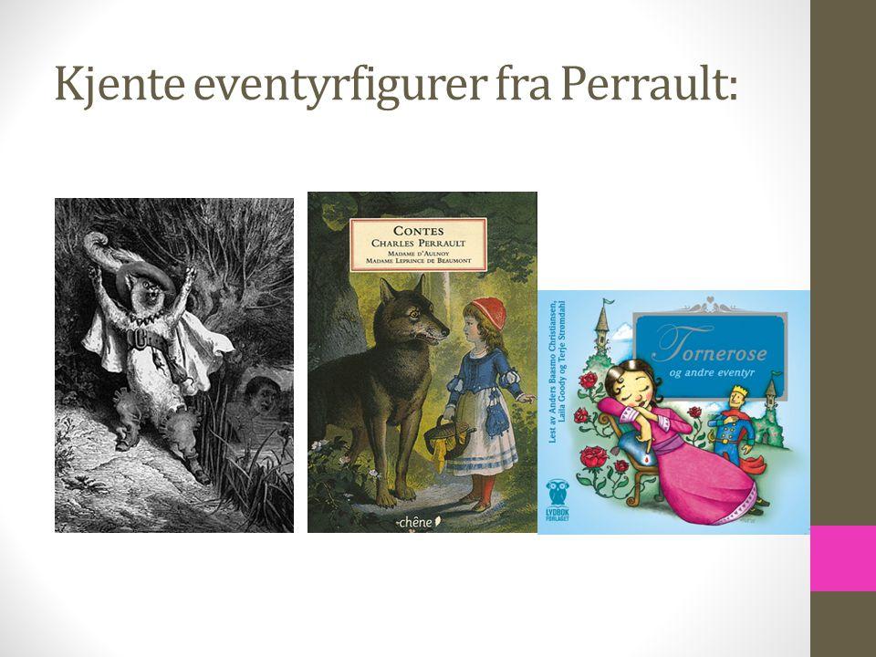 Kjente eventyrfigurer fra Perrault: