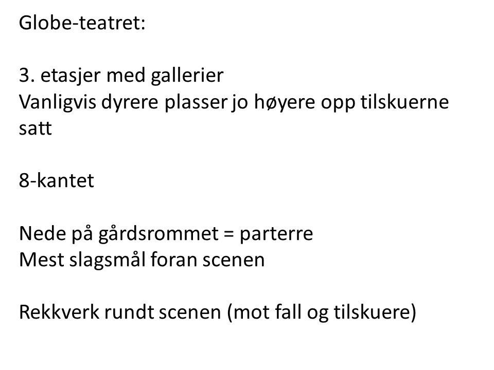 Globe-teatret: 3.