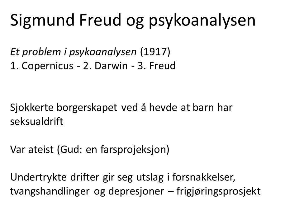 Freud skrev til André Breton at selv om han hadde registrert hvor stor interesse Breton og han venner hadde for hans egne undersøkelser, hadde han ikke fått noen klar forståelse av hva surrealismen var