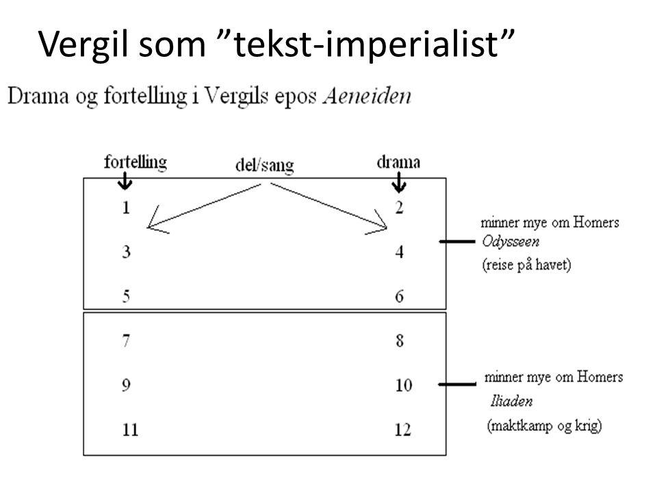 "Vergil som ""tekst-imperialist"""