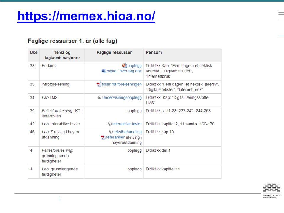 Verktøyoversikt — LMS (Fronter) — Regneark — Geogebra — Tekstbehandling — Prosessorientert skriving — Interaktive tavler — Animasjon — Videoredigering (KRØ) — Lydredigering — Skriving på nett (wiki) — Bildebehandling (bildebok)