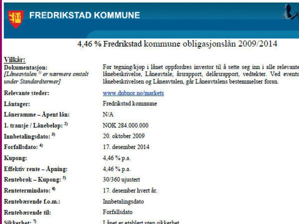 Obligasjonslån i Norge