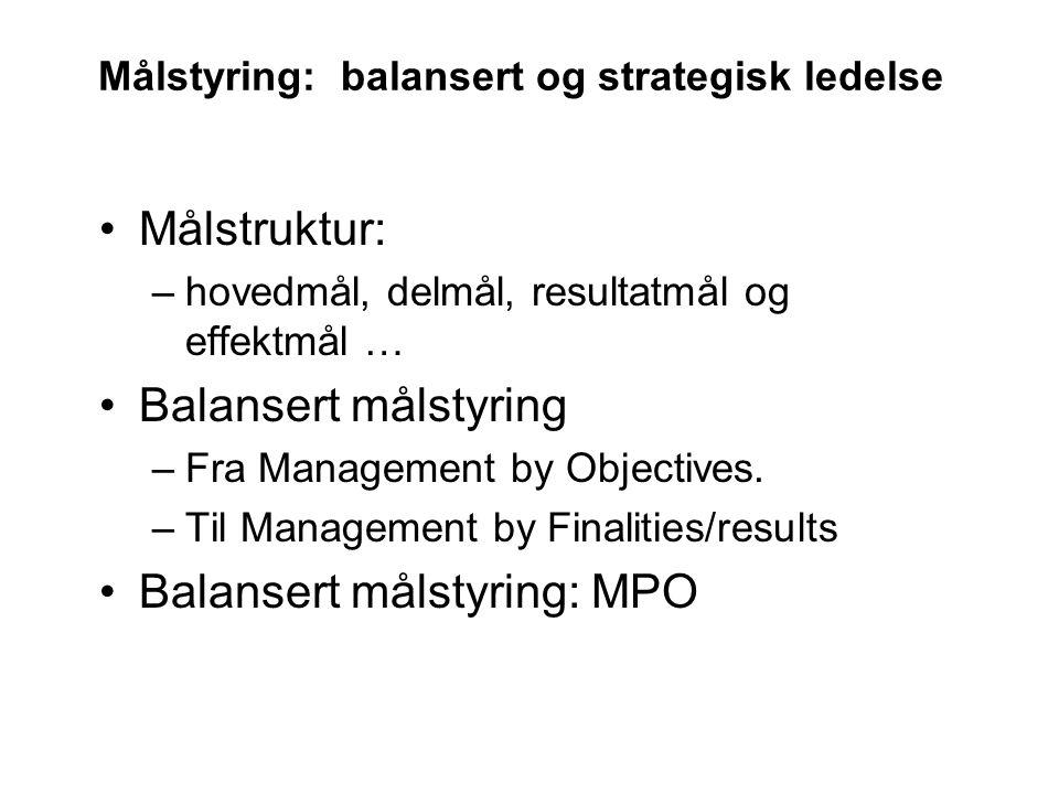 Strategisk ledelse Strategic leaders have the organizational ability to: 1.