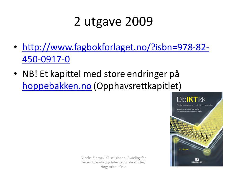 2 utgave 2009 http://www.fagbokforlaget.no/?isbn=978-82- 450-0917-0 http://www.fagbokforlaget.no/?isbn=978-82- 450-0917-0 NB.