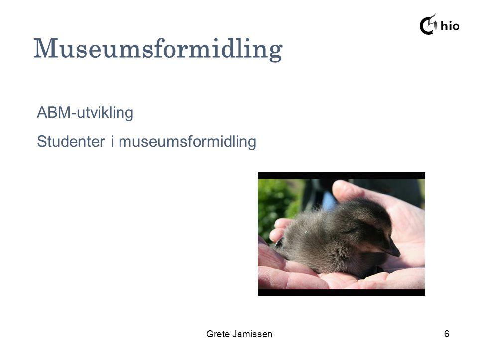 Grete Jamissen6 Fauelungen Museumsformidling ABM-utvikling Studenter i museumsformidling