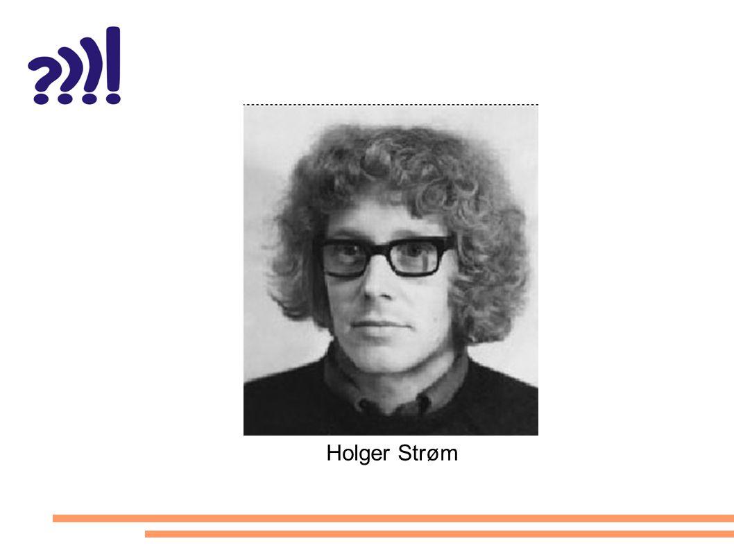 Holger Strøm
