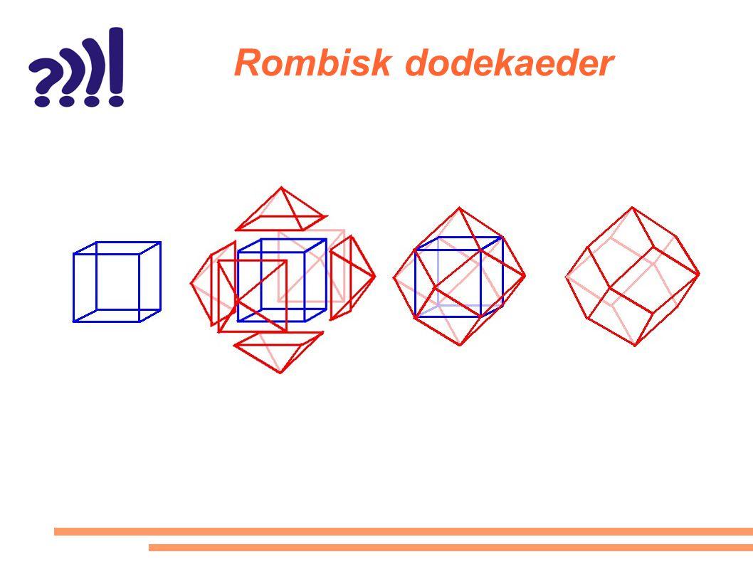 Rombisk dodekaeder