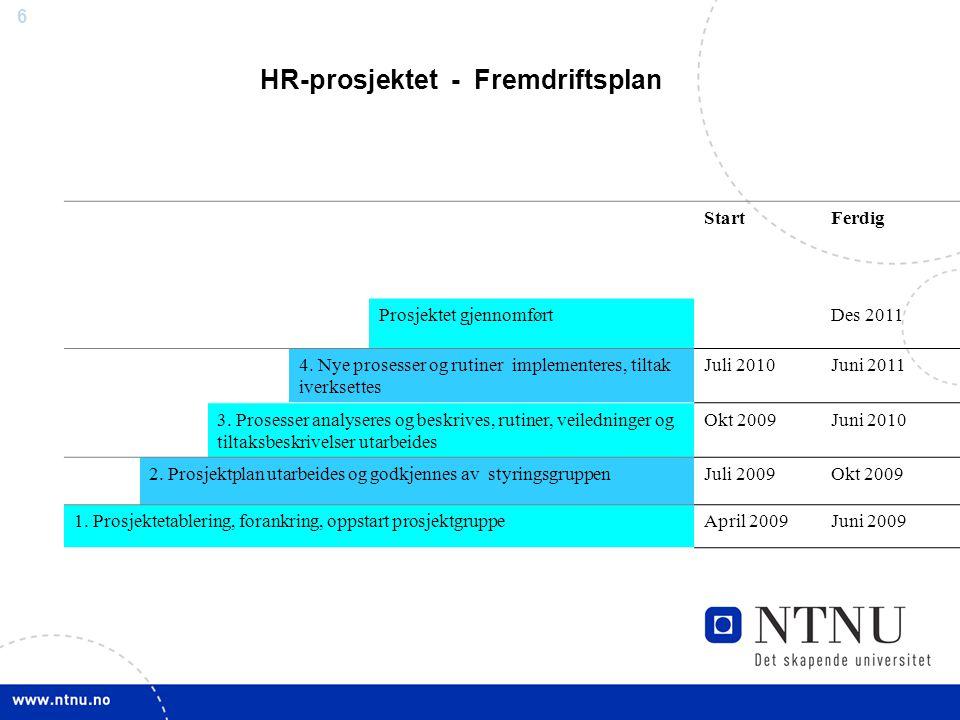 5 HR-prosjektet