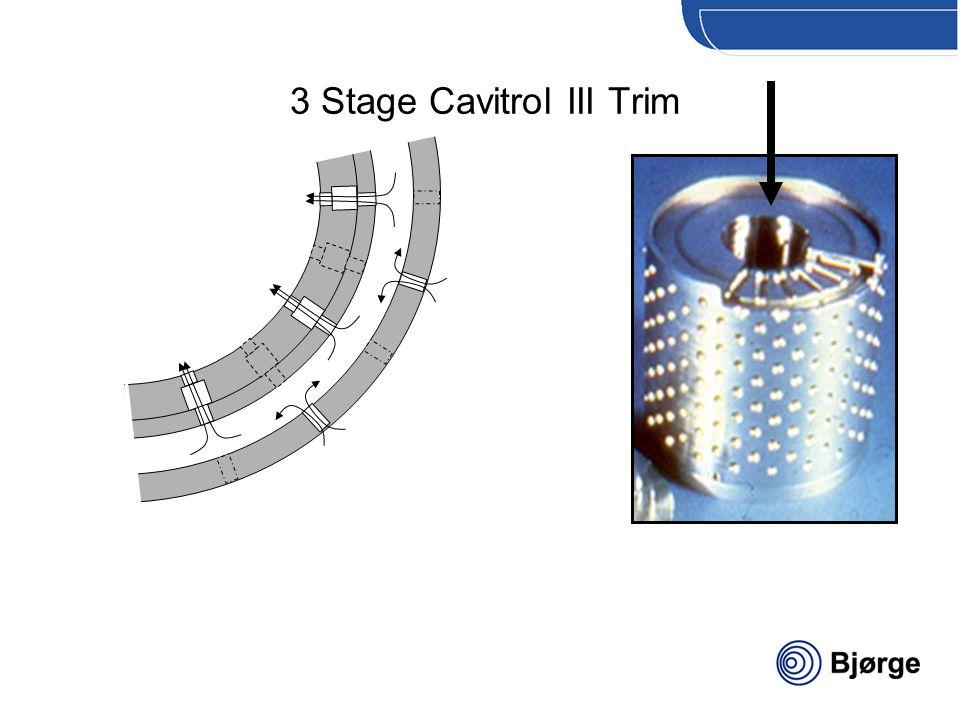 Bjørge Solberg & Andersen 3 Stage Cavitrol III Trim
