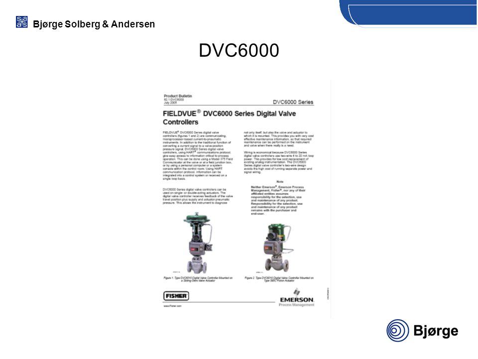 Bjørge Solberg & Andersen DVC6000