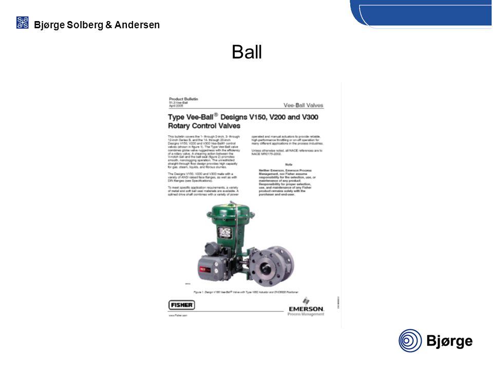 Bjørge Solberg & Andersen Ball