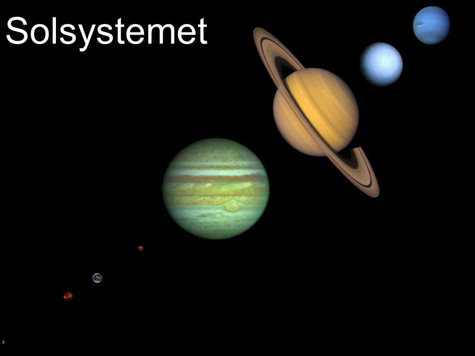 Eris Størrelse: 1300 km r jord Avstand fra sola: 67,67 AE Rotasjonstid: >8 timer Omløpstid:557 år Oppdaget: 2003 Måner:1
