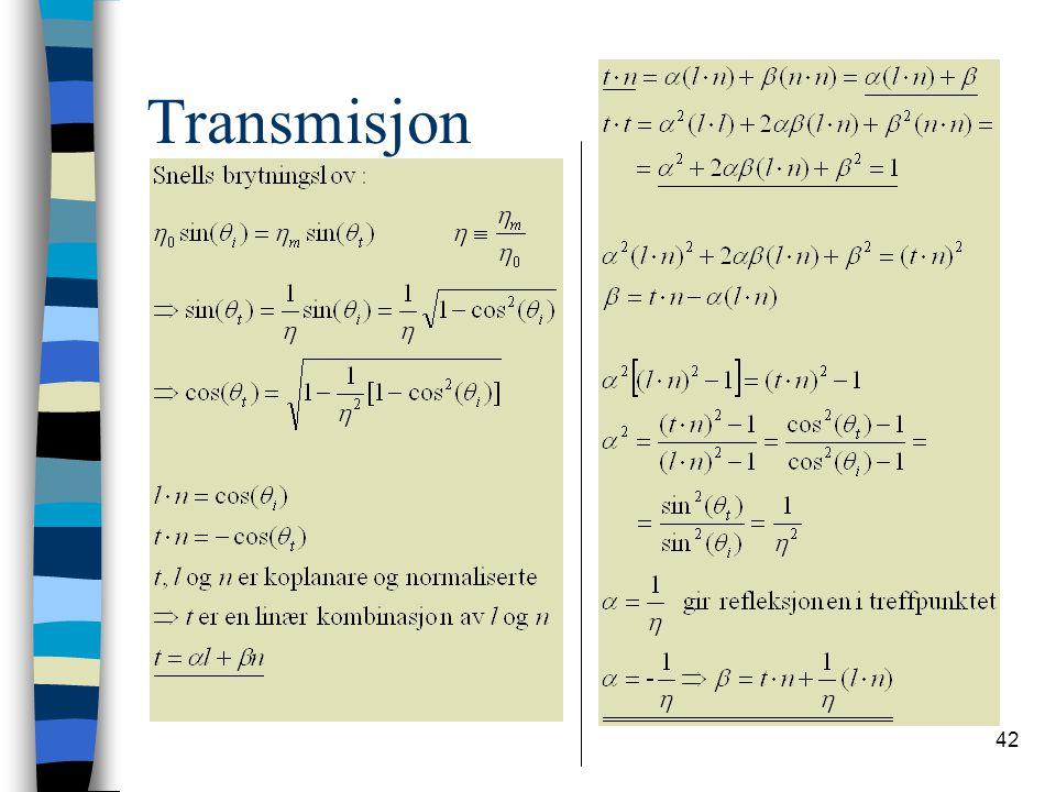 42 Transmisjon