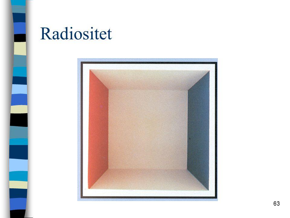 63 Radiositet