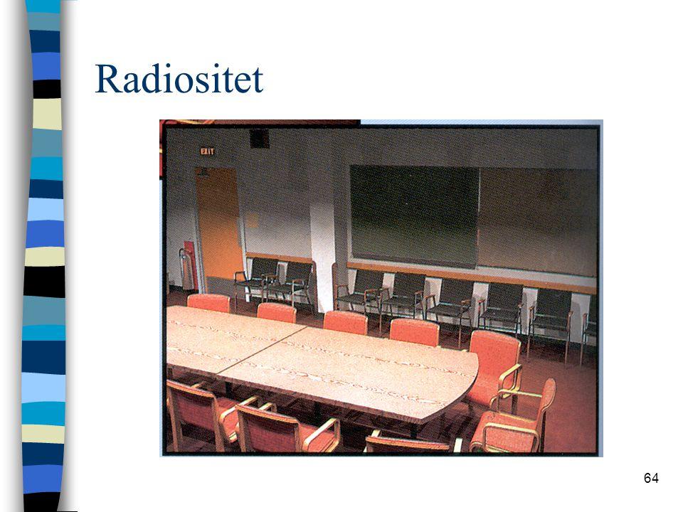64 Radiositet