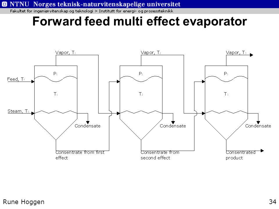 Forward feed multi effect evaporator Rune Hoggen34
