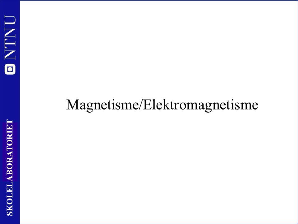 14 SKOLELABORATORIET Magnetisme/Elektromagnetisme