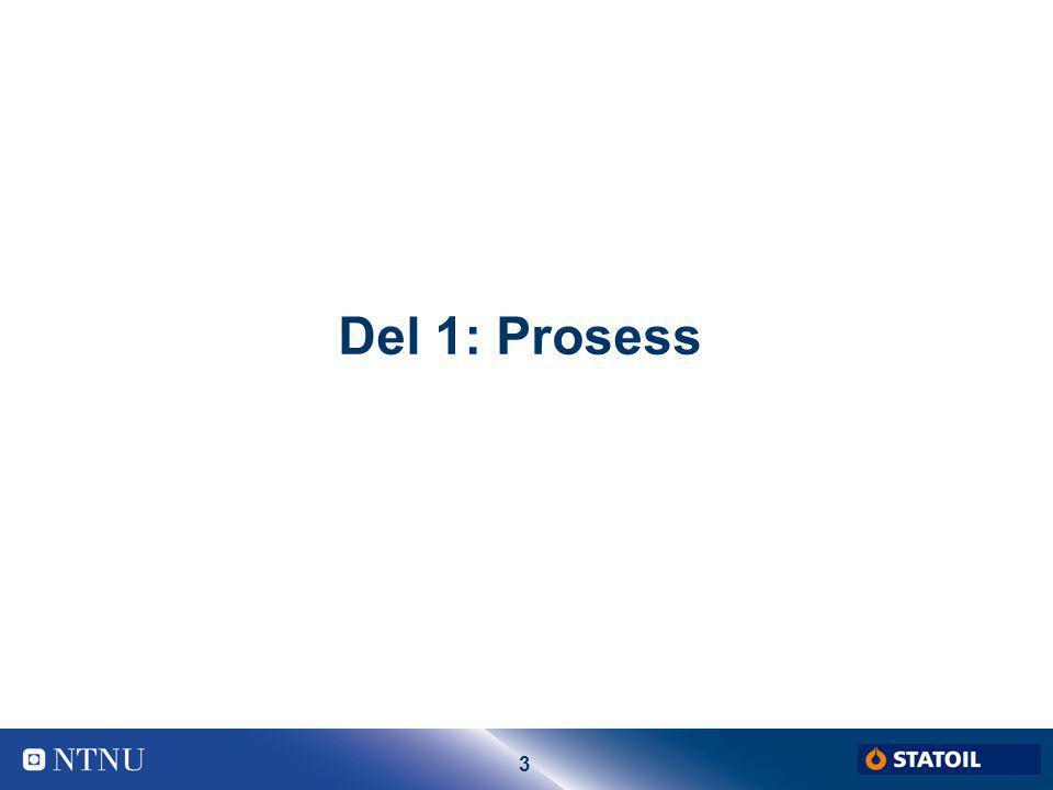 3 Del 1: Prosess