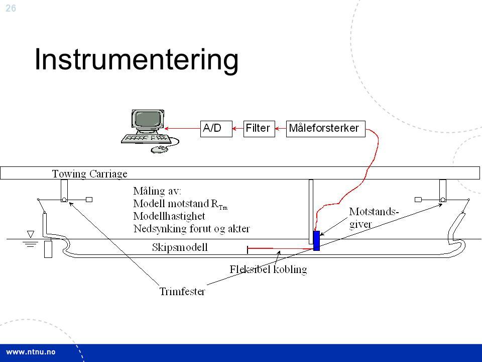 26 Instrumentering