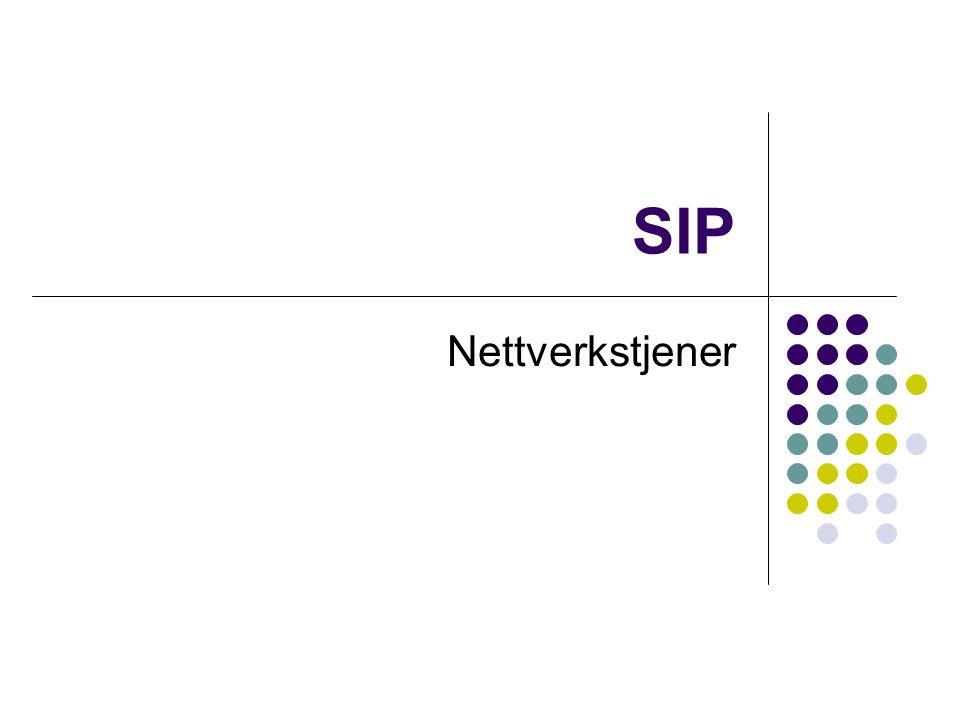 SIP Nettverkstjener