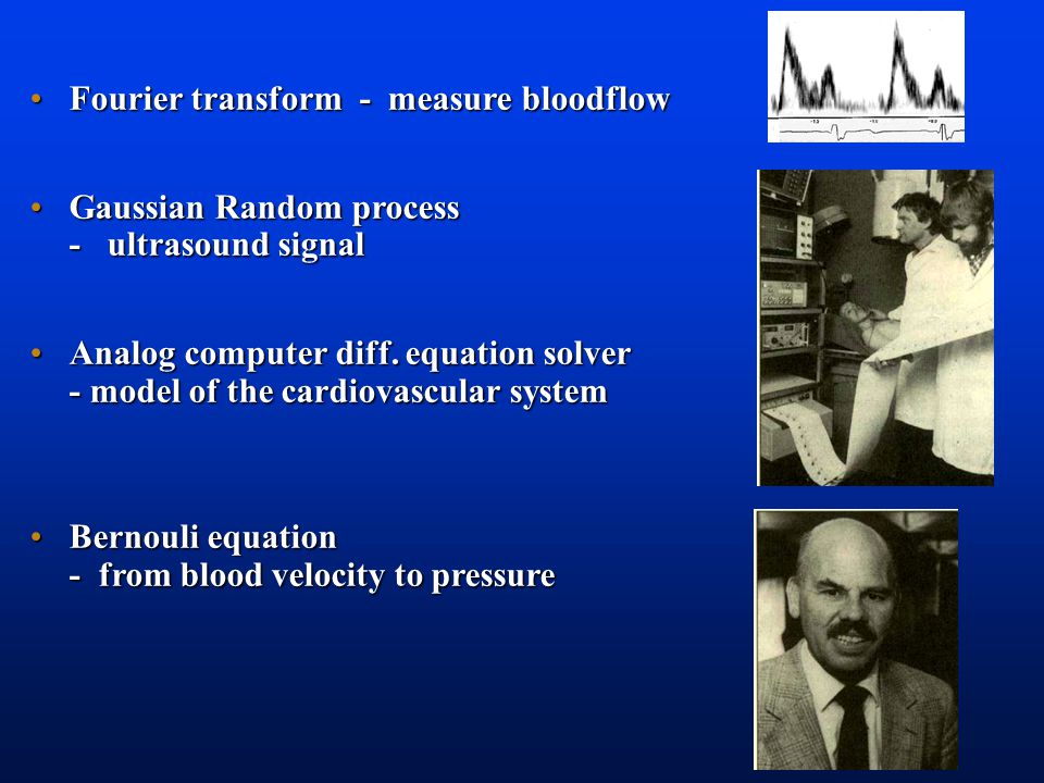 Doppler blood flow meter Pedof 1976 Blood velocity Mitral inflow Normal relaxation Delayed relaxation