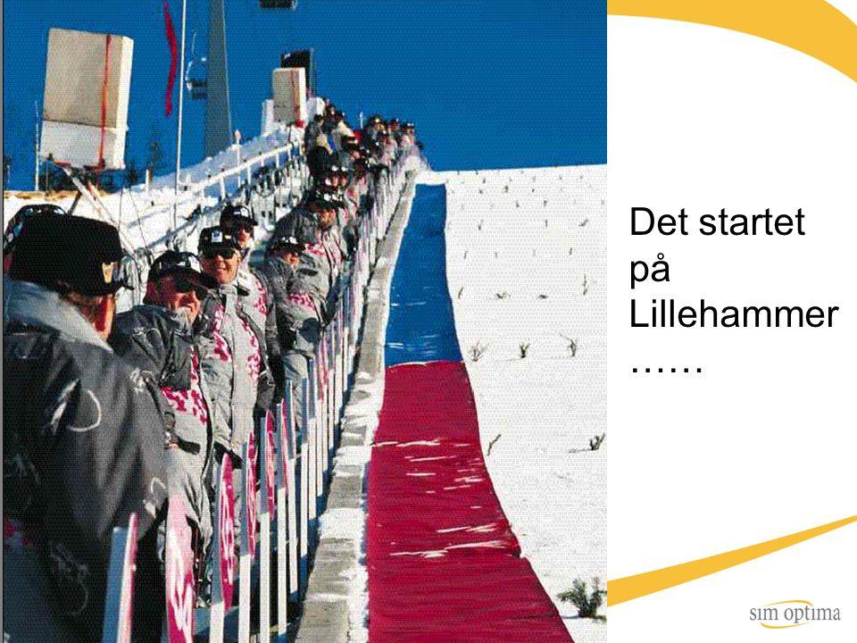 Det startet på Lillehammer ……