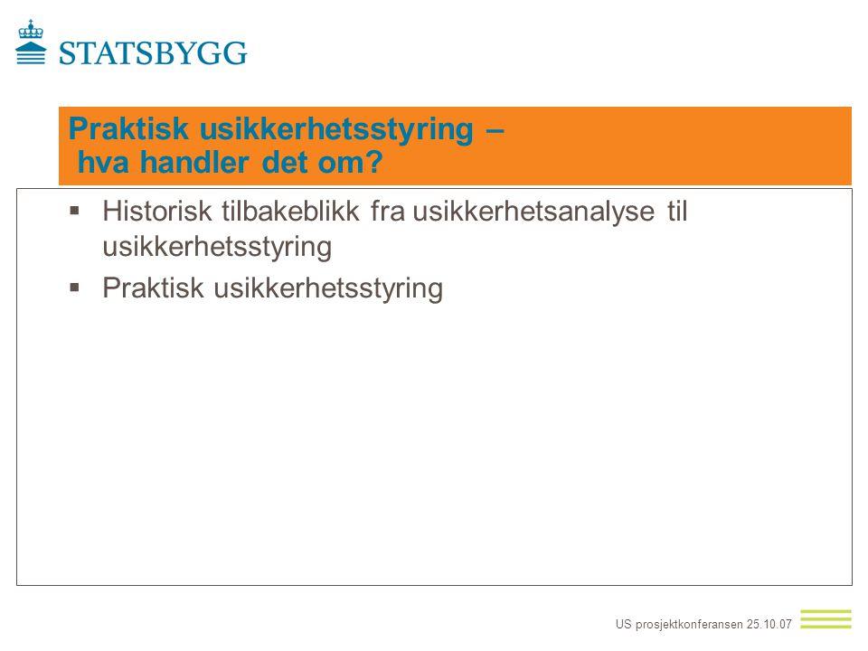 US prosjektkonferansen 25.10.07 Hva er budskapet – hvorfor bør R6 gjennomføres?  R6 skal sikre målet om samling av departementene (unntatt Forsvarsde