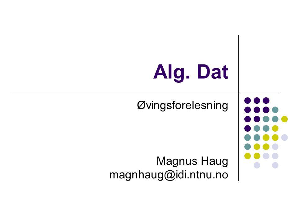 Håndtering av kollisjoner Lineær søking Hvis det er en kollisjon, prøv neste plass i tabellen Ulempe: Primary clustering – yter enda dårligere enn kjeding hvis man har mange kollisjoner