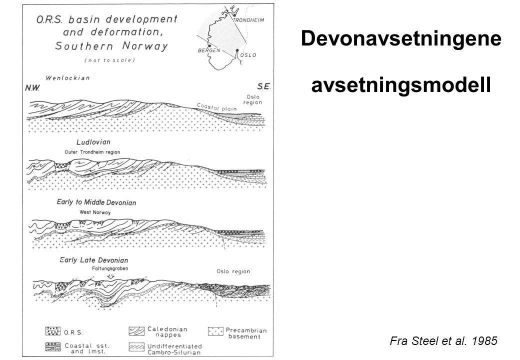 Vestre gneisområde med devonbassengene Fra Seranne 1992