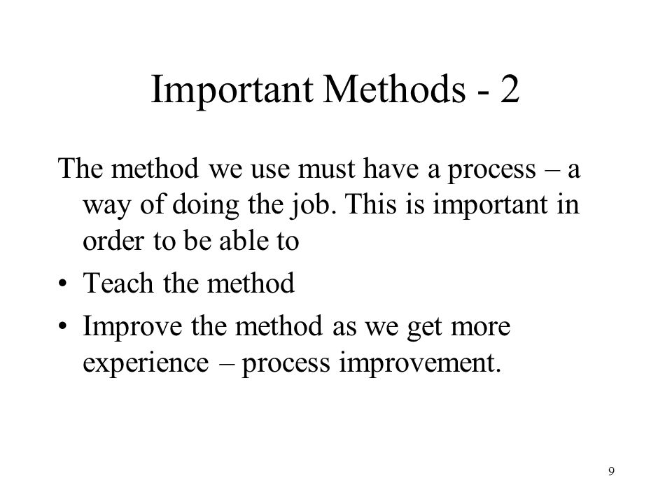 40 FMEA - 3 The FMEA method: Offers a systematic walk-through of one or more system components.