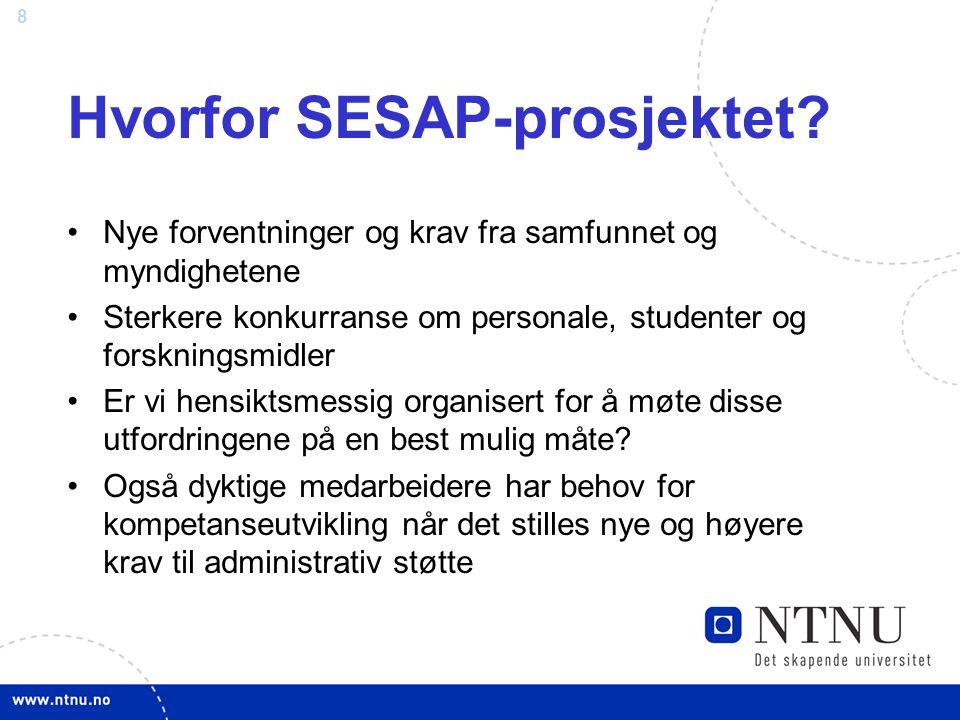 29 LØF 2010 og SAP Faste føringer fra LØF 2010 –prosjektet har definert nye arbeidsprosesser –prosjektet har definert rollebeskrivelser m/kompetansekrav –prosjektet har definert stillingsprosent i noen roller –innføringsleder ved alle fakultet/tilsv.