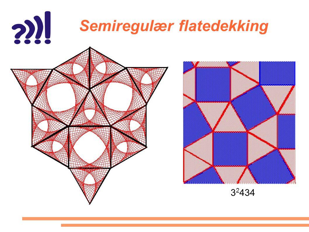 Semiregulær flatedekking 3 2 434