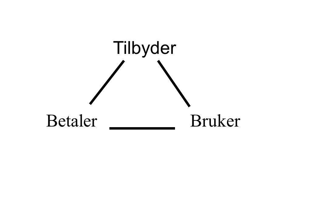Tilbyder BetalerBruker