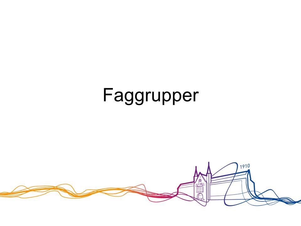 Faggrupper