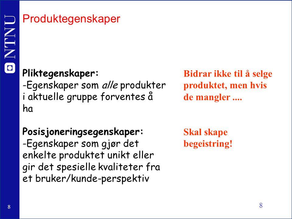 9 9 Kvalitet Vi må vite: -hvilke leverandører, hvilke komponenter -hvor skal det produseres og av hvem -egenskaper ved produksjons- og leveransesystemet q Dårlig sykkel / god sykkel?
