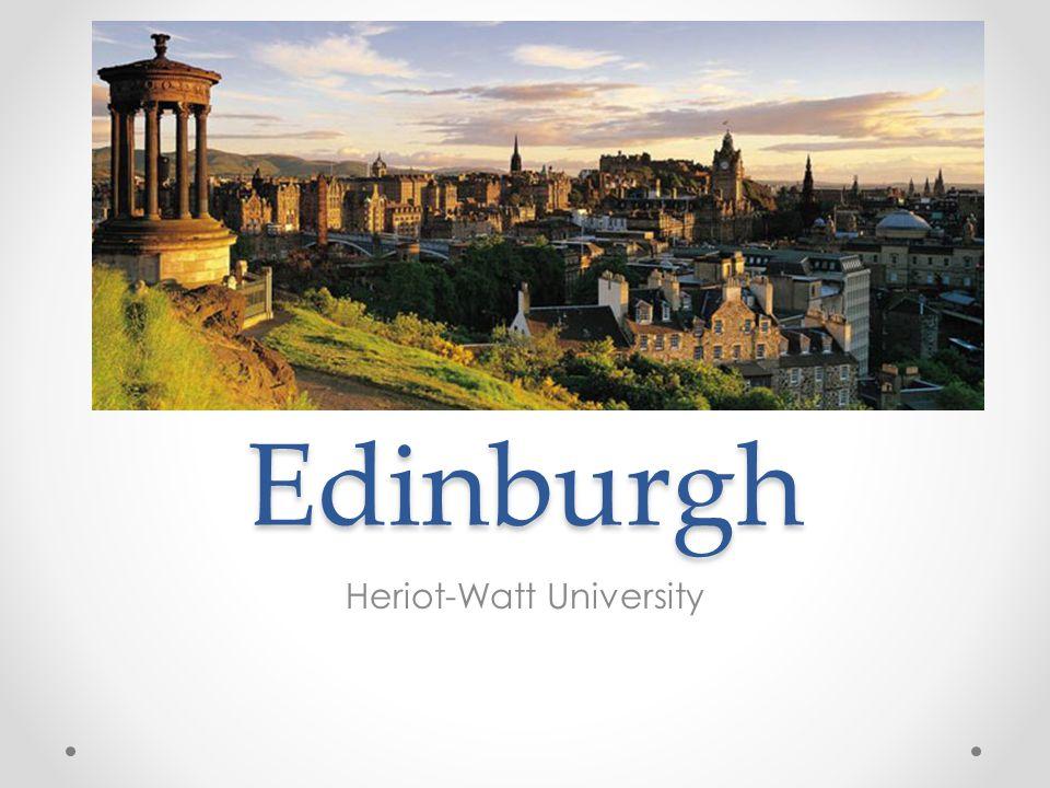 Edinburgh Heriot-Watt University