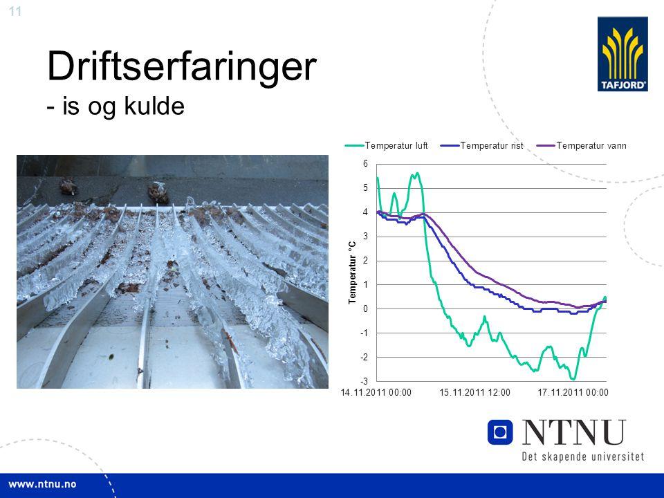 11 Driftserfaringer - is og kulde