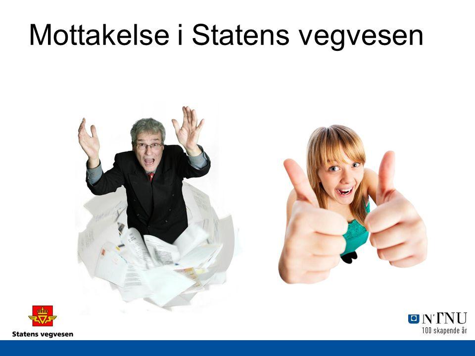 Mottakelse i Statens vegvesen