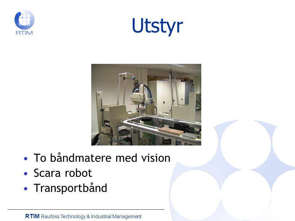 RTIM Raufoss Technology & Industrial Management Utfordringer Tidsvariasjon Kvalitet