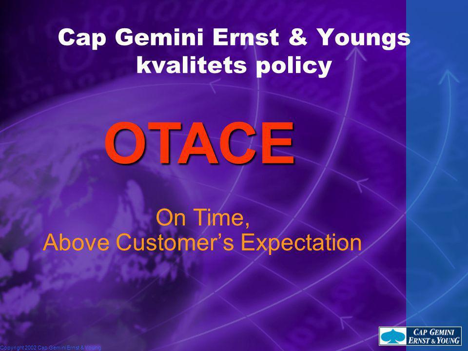 Copyright 2002 Cap Gemini Ernst & Young