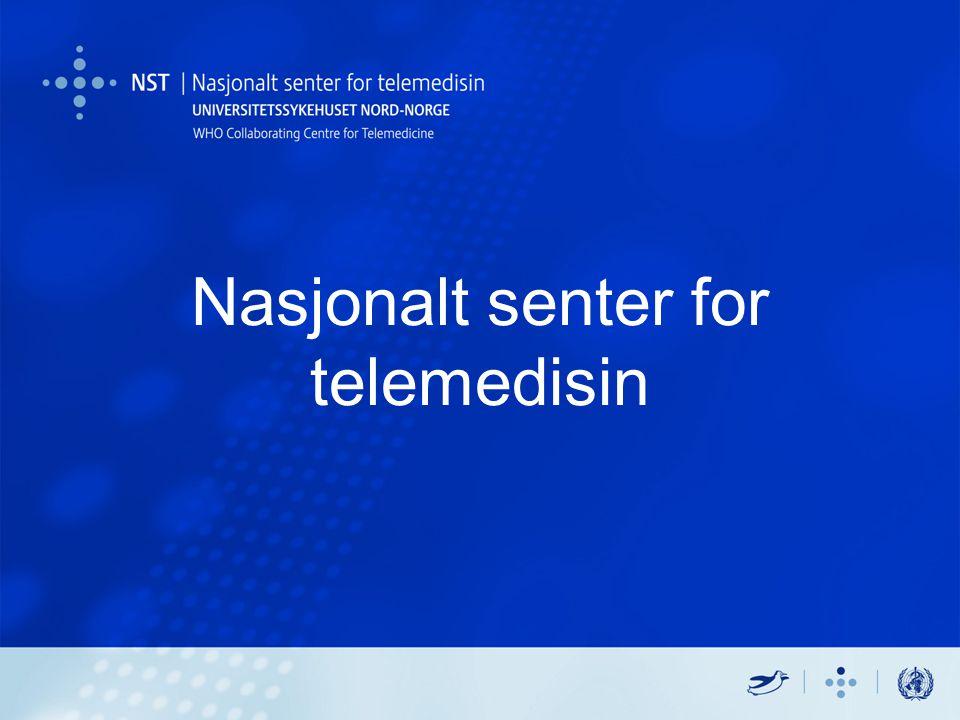 Nasjonalt senter for telemedisin